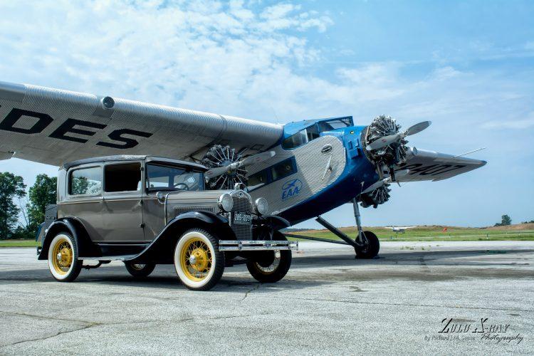 Air Museum Network New Garden Flying Field Receives Eaa