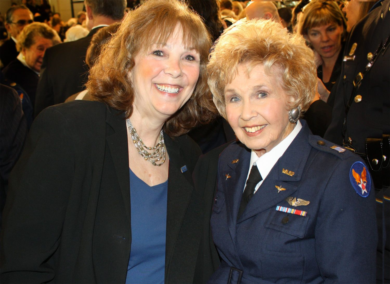 Air Museum Network Mother Daughter Duo Inducted Into