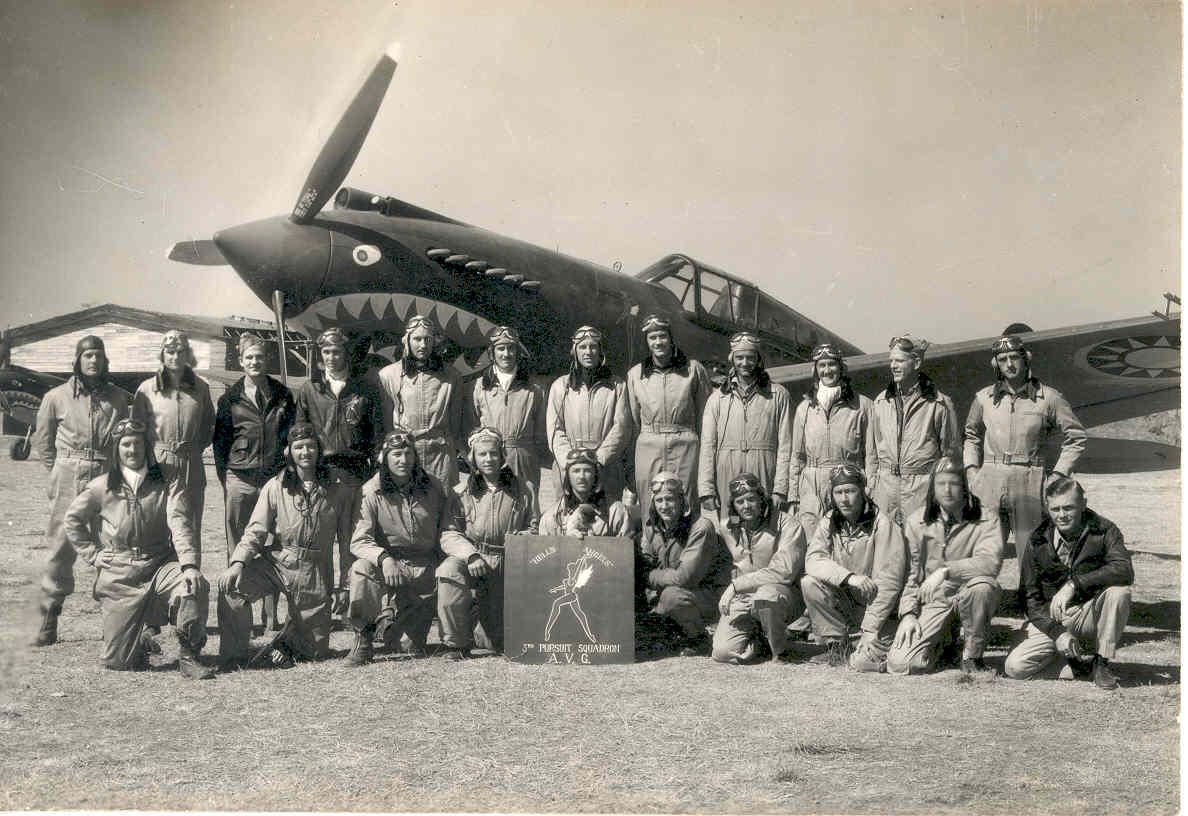 Air Museum Network Avg Flying Tigers Veterans Headline