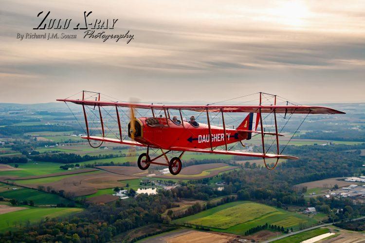 Curtiss Jenny JN4D In Flight