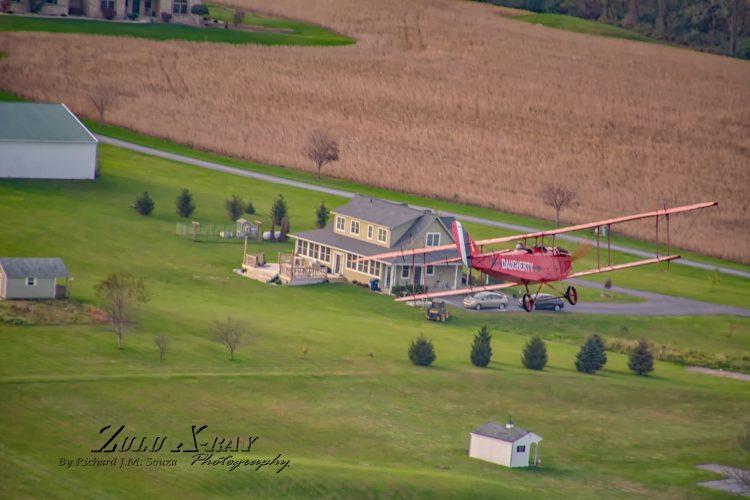 Curtiss Jenny JN4D On Approach