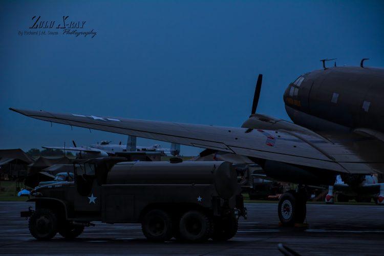 "Curtiss C-46 Commando ""Tinker belle"""