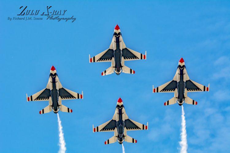 USAF Thunderbirds - Cloverloop Opener