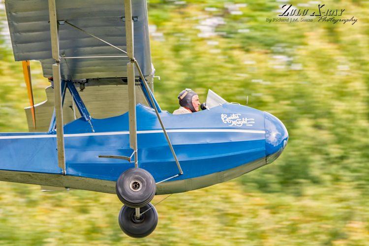 The Curtis-Wright Junior Buzzes The Aerodrome