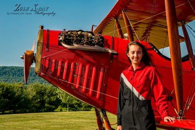Caroline Dougherty and The Curtiss Jenny